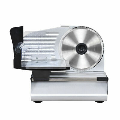"7.5"" Blade Electric Meat Slicer Cheese Deli Meat Food Cutter Kitchen Home"