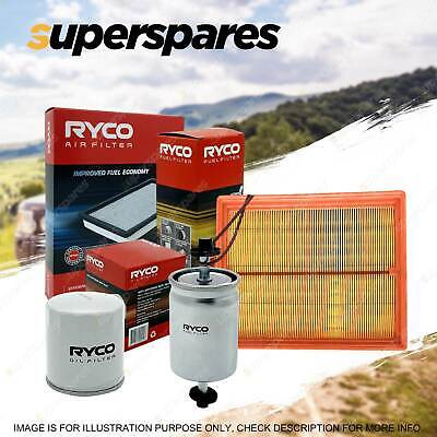 Ryco Oil Air Fuel Filter Service Kit For Toyota Landcruiser Prado KDJ150R 09-15