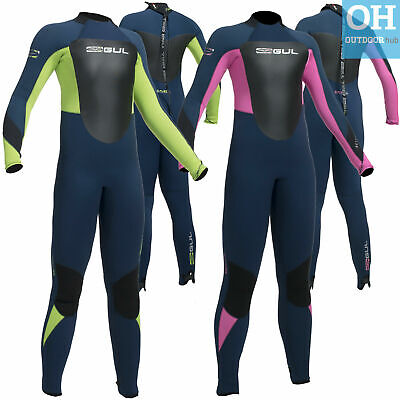 Gul Response 5/3mm Junior Full Wetsuit Childs 5mm BS Girls Boys Winter Surf Swim