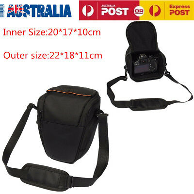 Waterproof Triangle Camera Bag DSLR SLR Shoulder Case For Canon EOS Nikon Sony