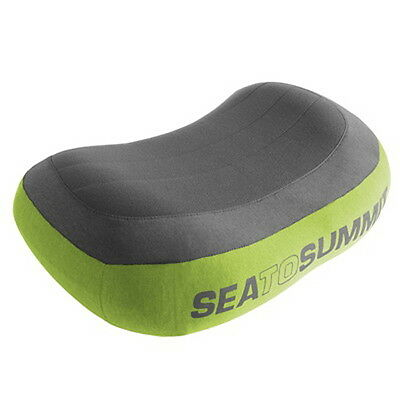 Sea to Summit Aeros Pillow Premium Regular Green -  Free Int'l Standard Shipping