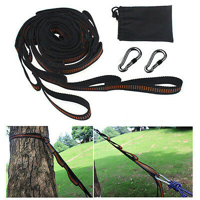Hammock Straps adjustable Tree Hanging Heavy Duty Extension suspension system