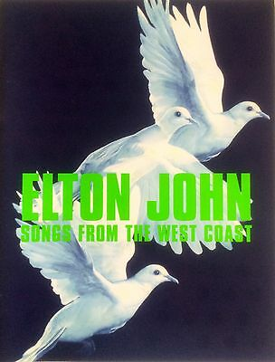 Elton John 2002 Songs From The West Coast Tour Concert Programme