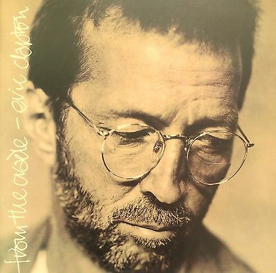 Eric Clapton 1994 From The Cradle Concert Programme