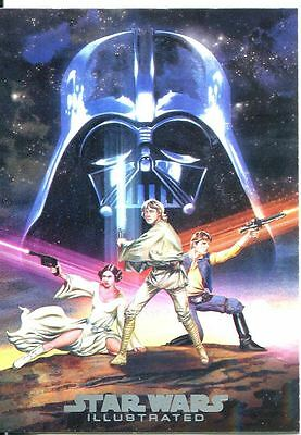 Star Wars Illustrated A New Hope Movie Poster Chase Card MP-6