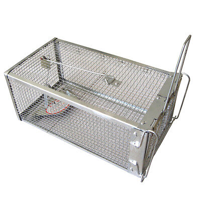 27x14.5x12cm Small Animal Live Hunting Trap Catch Alive Mouse Snare Cage Catcher
