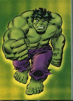 The Incredible Hulk Complete 72 Card Base Set