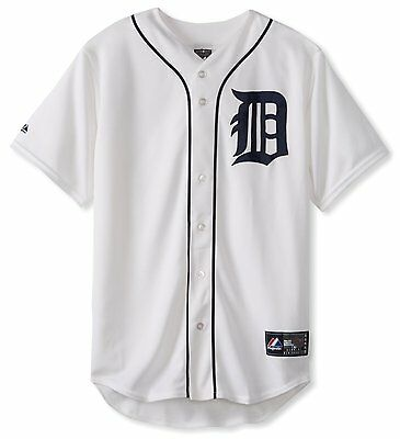 Detroit Tigers Jersey MLB Majestic Athletic Replica Home Baseball - Brand New