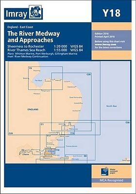 Imray Chart: The River Medway and Approaches - Sheerness to Rochester and River