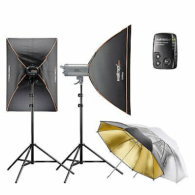 Walimex Pro Set de Estudio Esencial 10.4 Excellence -  Studio Flash Pro