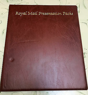 Royal Mail First Day Cover Album 18 Pages 72 First Day Covers Diff Years lot # 3