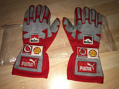 Michael Schumacher Mechaniker Mechanic Pit Gloves Handschuhe Ferrari F1 **RAR**