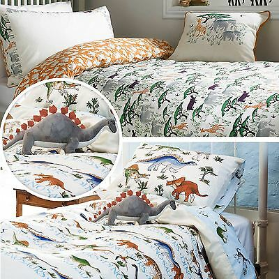 Emma Bridgewater Childrens Dinosaur Safari Duvet Quilt Cover Bedding Set Cushion