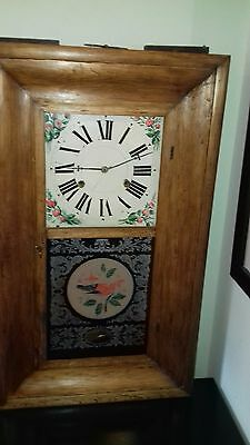 Antique American OG Wall Clock