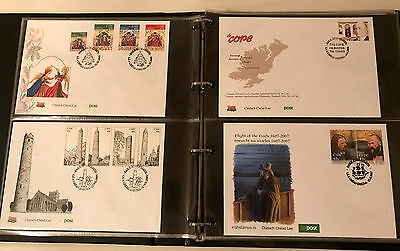 Ireland Irish Post First Day Cover Album 17 Pages 68 First Day Issue FDC