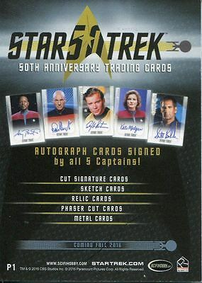 Star Trek 50th Anniversary [2017] Promo Card P1 General Distribution
