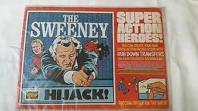 The Sweeney - Hijack! - Letraset - Super Action Heroes! - Action Transfers