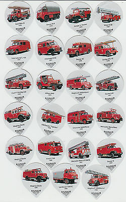 Fire Engines : attractive complete Floralp creamer top set