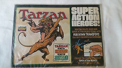 Tarzan vs the King Beasts - Letraset - Super Action Heroes! - Action Transfers