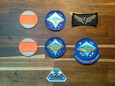 Space Above and Beyond Original Prop Patches Movie TV Film