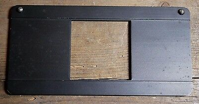 medium format 120 glassless negative carrier slider for darkroom enlarger