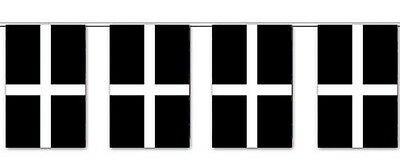 3ft x 2ft 100/% Polyester 100D St Piran Baner Cornish Kernow Flags of Cornwall