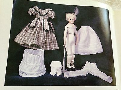 "Rare 16"" Huret Rohmer China Doll Magazine  Article With Dress  Hat Slip Pattern"
