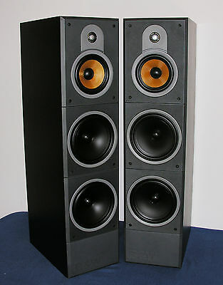 B&W Bowers & Wilkins DM 640 3-Wege Baßreflex Standlautsprecher High End Boxen