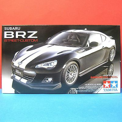 Tamiya 1/24 Subaru BRZ [Street-Custom] model kit #24336