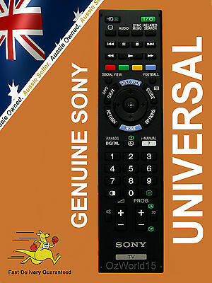 SONY REMOTE replaces RM-GD003 KDL-40W3100  KDL-40X3100  KDL-40XBR  KDL-46W3100
