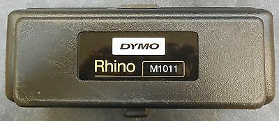 DYMO RHINO M1011 Metal Tape Embossing/Labelling Kit, Excellent Condition