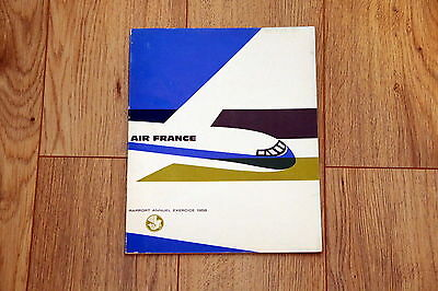 AIR FRANCE RAPPORT ANNUEL EXERCICE 1958 Mr Max Hymans