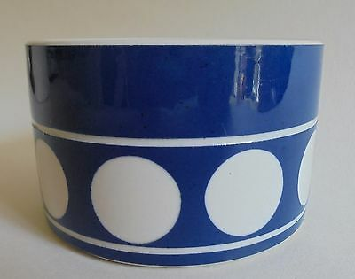 Retro T.g.green 'jersey Blue' Sugar Bowl