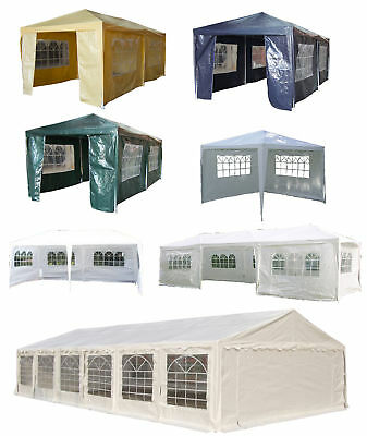 FoxHunter Outdoor Garden PE Gazebo Marquee Canopy Awning Wedding Tent Waterproof