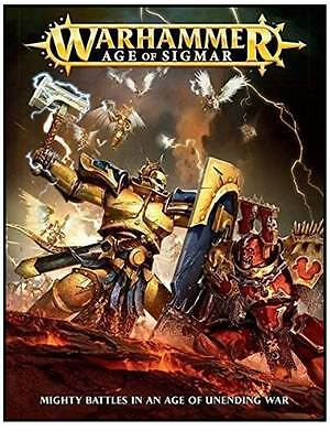 Warhammer Age Of Sigmar Mighty Battles IN An Age Of Unending War New Still Wrap.