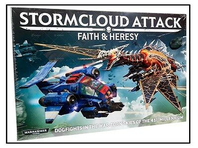 Stormcloud Attack Faith & Heresy Dogfights Of The 41st Millennium New Still Wrap