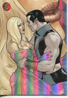 Marvel Dangerous Divas Embrace Chase Card E14