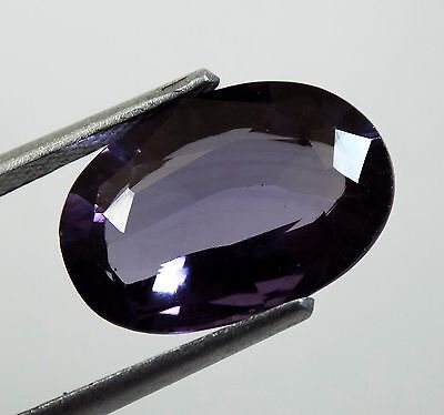 8.45 Ct Exclusive! Unheated Rare Oval Shape Color Change Alexandrite Gemstone A