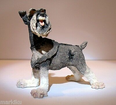 New Mini Schnauzer dog Figurine CA04335 Country Artists A Breed Apart