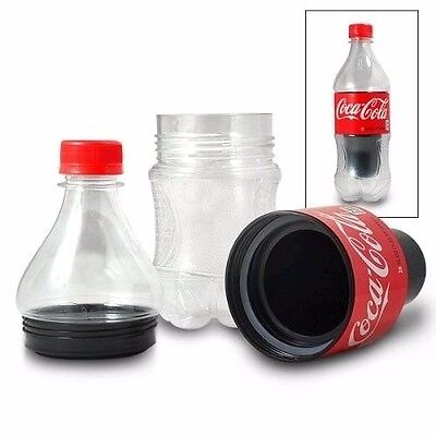 LOT OF 4 diversion safes coca cola soda bottle 20oz size Brand New