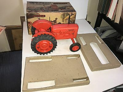 VINTAGE 1950's RAPHAEL LIPKIN NUFFIELD UNIVERSAL FOUR TRACTOR model FREE POSTAGE