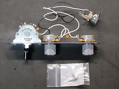 2011 Fender Classic 60's Telecaster 63 Reissue Loaded CONTROL PLATE Tele Guitar