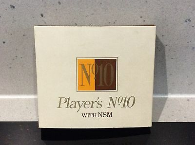 Vintage Players No10 With NSM - Empty 20 Cigarette Packet