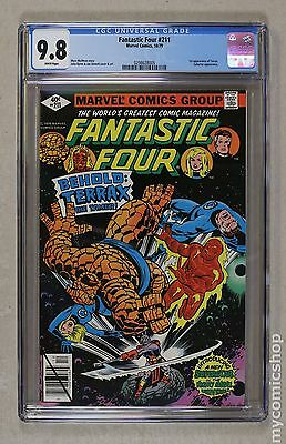 Fantastic Four (1961 1st Series) #211 CGC 9.8 0298628005