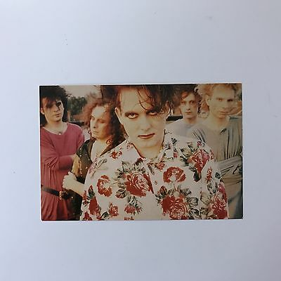 Rare Original 1990 The Cure 'Mixed Up' Line-up Unused Colour Photo Postcard
