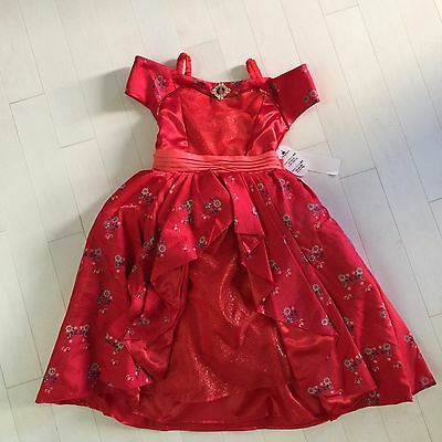 Disney Elena Of Avalor Royal Ball Gown Costume Dress Park Exclusive, Med. NWT