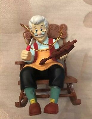 Disney Grolier Geppetto From Pinocchio Christmas Decoration Ornament