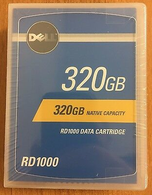 Dell 0PV038 - 320GB  RD1000 / RDX Hard Drive Cartridge - NEW/Factory Sealed