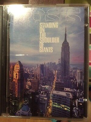 "OASIS ""STANDING ON THE SHOULDER  OF GIANTS"" MiniDisc MD MiniDisk"