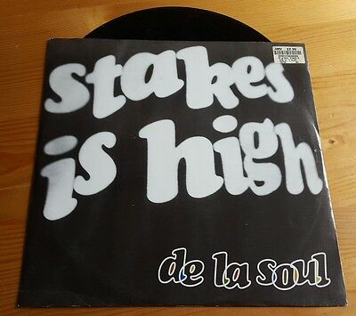 "De La Soul - Stakes is High 12"" vinyl single hip hop"